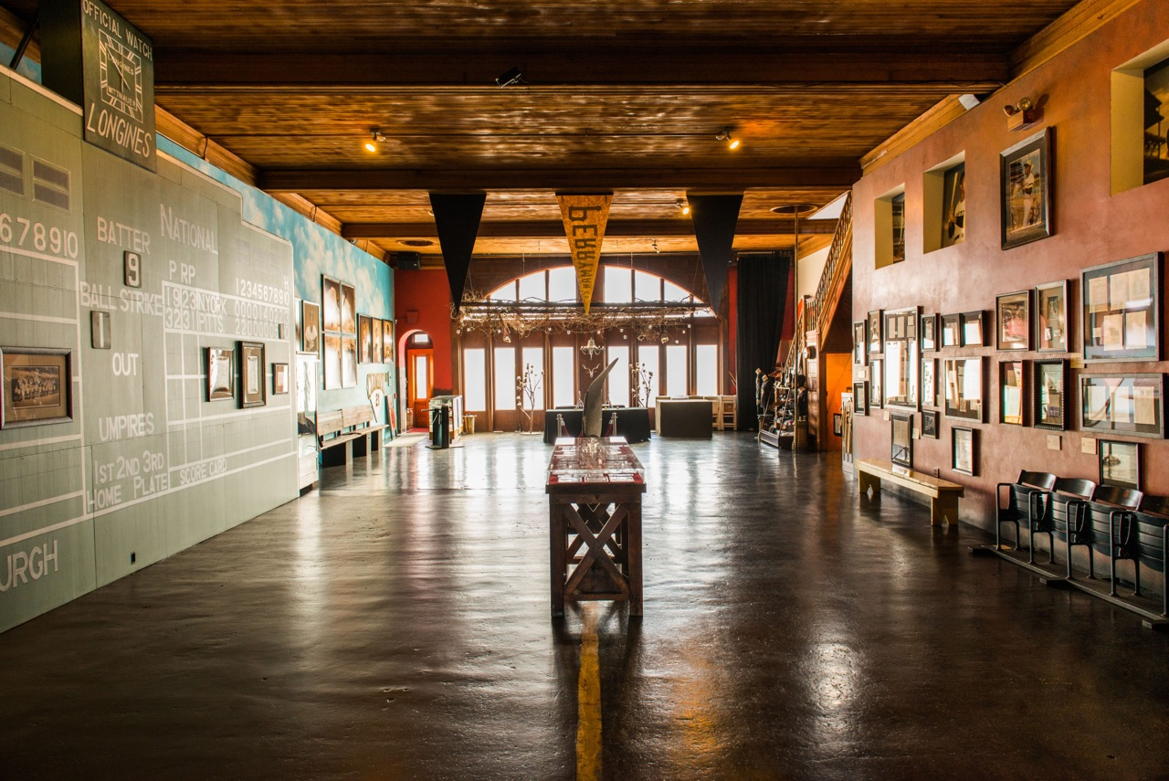 The main floor of The Clemente Museum  Photo by Duane Rieder/Clemente Museum
