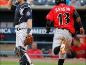 Will Alen Hanson be crossing the plate at PNC next year?  Photo by Jeremy Wadsworth/Toledo Blade