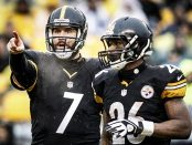 Ben and the offense will have to carry the Steelers in 2015. Photo courtesy of nfl.com